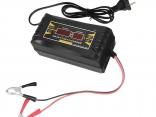 Автомобильное зарядное устройство 12В 6A (ЖК-дисплей полностью автоматическое)