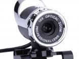 Веб-камера 360 градусов, USB высокой четкости, встроенный микрофон звукопоглощения