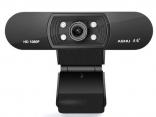 Веб-камера 1080 P, со встроенным HD микрофоном звукопоглощения, широкоформатное видео