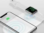 Беспроводной зарядный коврик для Apple Watch, iPhone X Xs Max XR 2 в 1