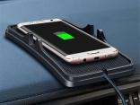 Автомобильное беспроводной зарядное устройство для смартфона