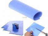 Теплопроводная силиконовая подложка под радиатор охлаждения 100x100 мм x 2 мм