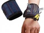 Магнитный браслет из прочной ткани на запястье-держатель для инструментов