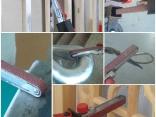 Верстачный шлифовальный станок-cкользящий переключатель с замком с легким алюминиевым корпусом