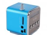 Портативный MP3-радио-динамик Cube ЖК-дисплей 5 цветов