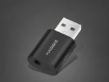 USB внешняя звуковая карта 2 в 1 гарнитура/микрофон
