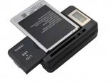Универсальное зарядное устройство с ЖК-индикатором для литий-ионных аккумуляторов, сотовых телефонов