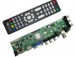 DS.D3663LUA.A81 Универсальный скалер ТВ светодиодный ЖК-дисплей с DVB-T2, DVB-T, DVB-C