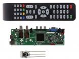 QT526C V1.1 Универсальный скалер ТВ с поддержкой DVB-S2, DVB-T2, DVB-C