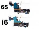 Шлейф для iPhone 4/4S/5/5S/SE/6/6S с разъемом для зарядки через USB-порт, с микрофоном