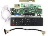 T.VST59.031 Универсальный скалер для B154EW08, LTN154X3-L01