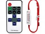 Беспроводной диммер с пультом дистанционного управления для светодиодные ленты 1 компл. 12 В