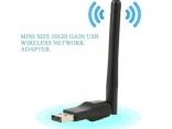 Беспроводной Wi-Fi сетевой адаптер USB для ПК, ноутбука