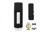8 ГБ USB флешка цифровой мини диктофон 2 в 1