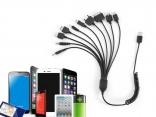 Универсальный USB кабель для зарядки телефонов 10 в 1
