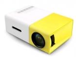 Coolux YG-300 домашний мини светодиодный проектор 400-600 люмен 320x240 p Видео 1920x1080 пикселей