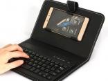 Micro USB клавиатура чехол подставка для Android
