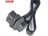 Удлинитель OBD2 16 Pin плоский 0,3 м, 0,6 м, 1 м