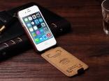Флип Бумажник кожаный чехол для iPhone 4, 4S  с держателем карт