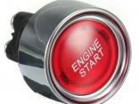 Автомобиль без ключа 12 В светодиодный переключатель кнопка зажигания Key Push