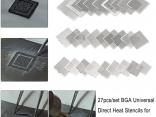 Универсальные BGA трафареты для реболлинга микросхем 27 шт./компл.
