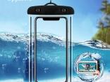 Водонепроницаемый прозрачный мобильный чехол для подводного использования (iPhone X Xs Max Xr 8 7, Samsung S9)