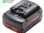 Аккумулятор BAT609, BAT618 для электроинструмента Bosch 18 В 6000 мАч