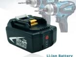 Аккумулятор BL1815, BL1830, BL1840, BL1845, BL1850, LXT400 для электроинструмента Makita 18 В 6000 мАч