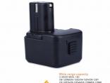 Аккумулятор EB1212S, EB1214L, EB1214S, EB1220BL для электроинструмента Hitachi 12 В 3000 мАч