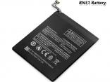 Аккумулятор BN31 для Xiaomi Mi 5X / Mi A1 / Redmi Note 5A / Redmi Note 5A Prime 3080 мАч
