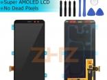 Дисплей в сборе с тачскрином для Samsung Galaxy A8 2018 A530