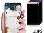 Дисплей в сборе с тачскрином для HTC One M7 801e