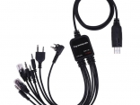 USB кабель для программирования радиостанции BaoFeng и других 8 в 1 c диском ПО