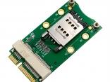 Мини PCI-E адаптер со слотом SIM-карты для 3G/4G