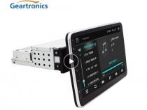 Автомобильный мультимедийный плеер 10 дюймов сенсорный экран 1 Din