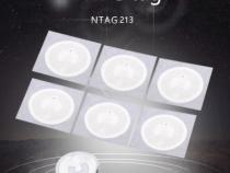 NFC-метка наклейка с чипом NTAG 213 13,56 МГц 10 шт.