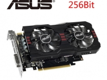 Видеокарта Asus GeForce GTX 760, GTX760-DF-2GD5, 2ГБ, GDDR5, 256 бит