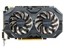 Видеокарта GIGABYTE GeForce GTX 950, GV-N950WF2OC-2GD, 2ГБ, GDDR5, 128 бит