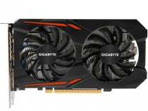 Видеокарта GIGABYTE GTX 1050 Ti Windforce OC, 4ГБ, GDDR5, 128 бит