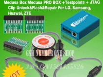 Программатор Medusa PRO Box + Testpoints + JTAG Clip Unlock & Flash & Repair for LG, Samsung, Huawei, ZTE