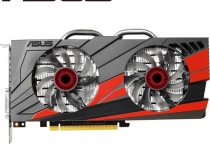 Видеокарта ASUS GeForce GTX 960, GTX960-DC2OC-4GD5-SI, 4ГБ, GDDR5, 128 бит