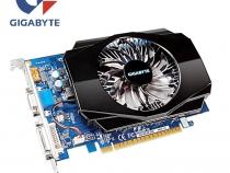 Видеокарта Gigabyte GT 730, GV-N730-2GI, 2ГБ, GDDR3, 128 бит