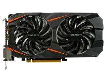 Видеокарта Gigabyte GeForce GTX 1060, GV-N1060WF2OC-3GD, 3ГБ, GDDR5, 192 бит