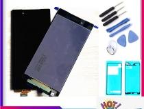 Дисплей в сборе с тачскрином для Sony Xperia Z5 (E6653, E6603, E6633) (черный, белый)