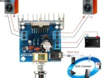 Усилитель на микросхеме TDA7297 двухканальный 15 Вт + 15 Вт