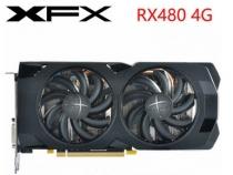 Видеокарта XFX AMD Radeon RX 480, 4ГБ, GDDR5, 256 бит