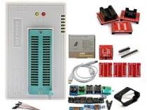 Программатор Xgecu TL866II Plus (Minipro TL866II Plus) + 28 адаптеров + тестовый зажим