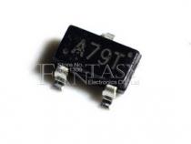 AO3407A (A79T) транзистор P-канальный MOSFET 30В 4.3А SOT-23 50шт.