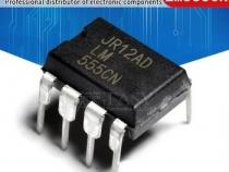 Микросхема LM555CN Одноканальный таймер DIP-8 10 шт.