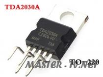 TDA2030A HI-FI аудио усилитель 18Вт TO-220 10 шт./лот